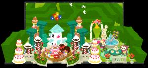 お菓子のお城風なんですが・・・伝わるかな??