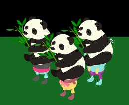 パンダ親子計画~どの子でガチャろうか?