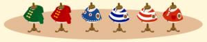 トルソー6種類
