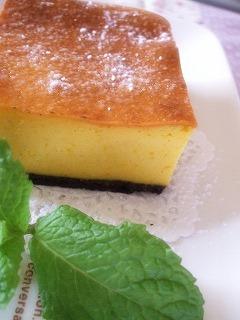 070803カボチャチーズケーキ