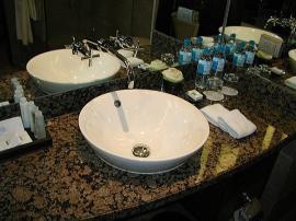 ホテル バンコク コンラッド バスルーム2