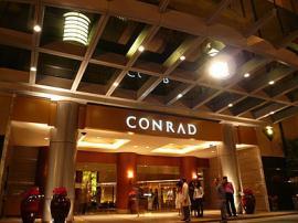 ホテル バンコク コンラッド エントランス1