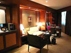 コンラッド ホテル バンコク リビング1