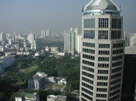 バンコク コンラッド ホテル 眺め1