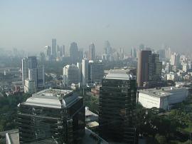 バンコク コンラッド ホテル 眺望2