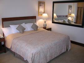 jw バンコク ホテル 寝室