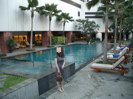 JW マリオット バンコク ホテル プール