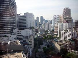 JW マリオットホテル バンコク 眺め
