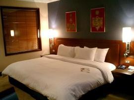 ノボテル スワンナプーム エアポート ホテル バンコク 寝室