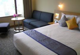 バンコク ホテル ノボテル サイアムスクエアー 部屋1