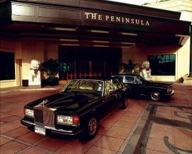 ホテル バンコク ペニンシュラ エントランス