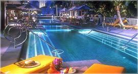 バンコク ホテル ペニンシュラ プール1