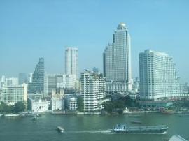 ホテル ペニンシュラ バンコク 眺め