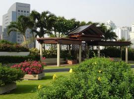 プラザ アテネ ア ロイヤル メリディアン バンコク ホテル 庭園