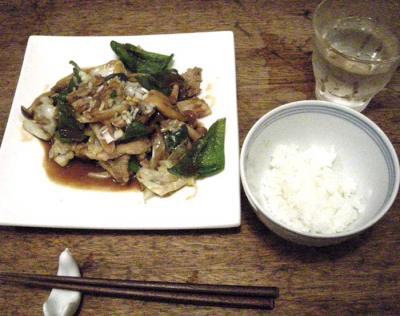 お肉たっぷり!野菜たっぷり!ボリュームたっぷり!回鍋肉!2007.9.20