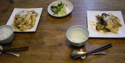 麻婆なす&麻婆豆腐 2007.9.28