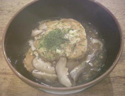 山芋のお好み焼き&あんかけ 2007.11.17