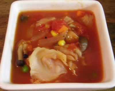 野菜たっぷり!トマトスープ!2007.7.25