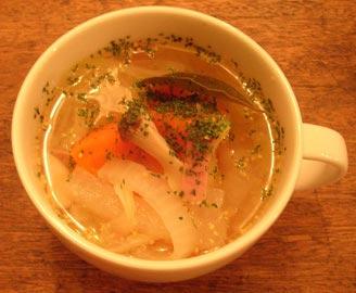 野菜たっぷり!粒マスタードスープ!2007.7.31