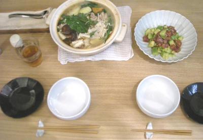 鍋焼きうどん 2009.2.7