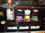 しょうゆ各種とお茶3種類はうれしい