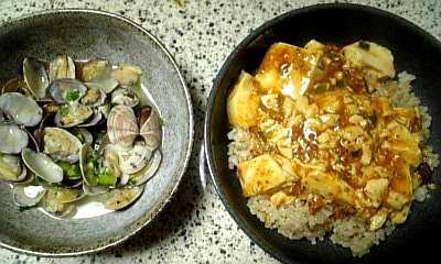 玄米 麻婆豆腐