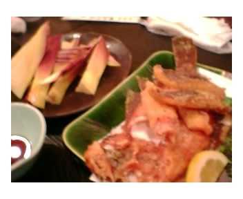 筍&カレイ唐揚