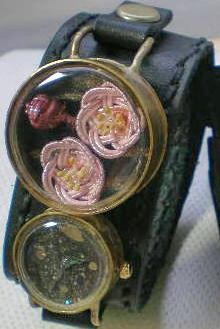 夜桜の腕時計