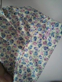 手作りシャツ チューリップ2