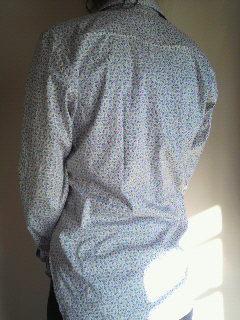 手作りシャツ チューリップ5
