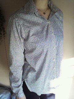 手作りシャツ チューリップ4