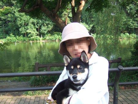 母と初顔合わせ(2006/8/13)