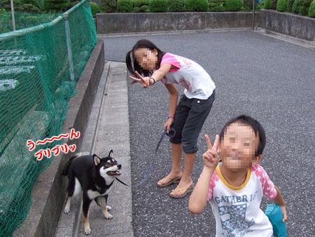 お隣さんちでバーベキュー(2007/9/2)
