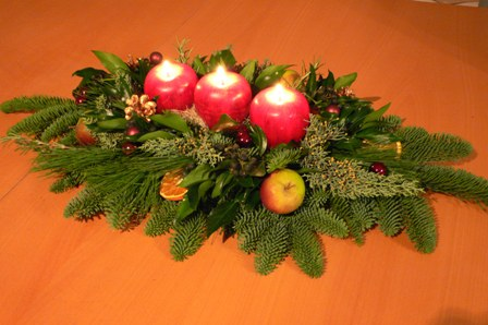 candle arrangement1