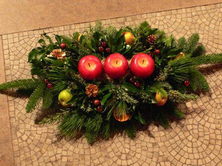 candle arrangement 2