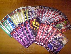 いらんカードが多い。