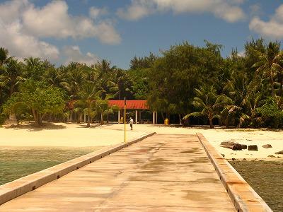 マニャガハ島入口