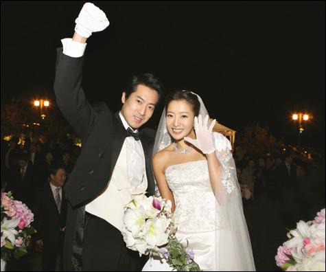 キム・ヒソンさん 結婚式