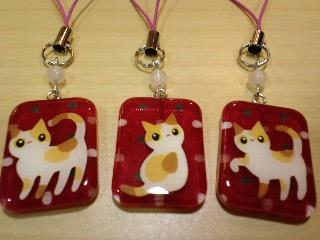 三毛猫3ポーズ