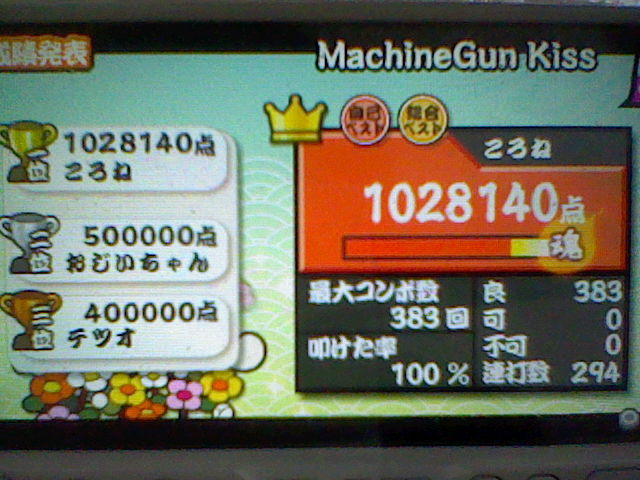 MachineGun Kiss 全良