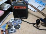 ギターアンプとguitarhthmCD