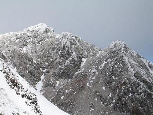 茶臼岳(冬)