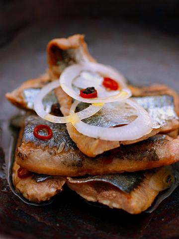 オイル秋刀魚
