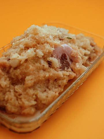 豚肉の林檎生姜漬け