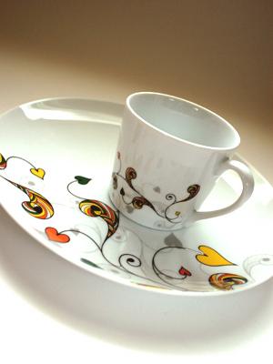 フランフランの皿&マグカップ