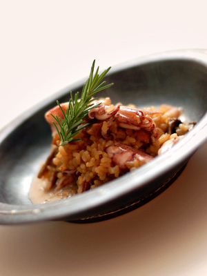 ヒイカの玄米リゾット