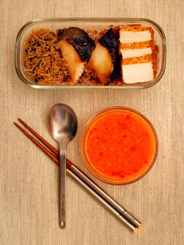 お弁当:夏のメシ弁