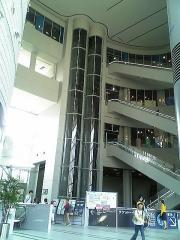 大阪市立科学館内