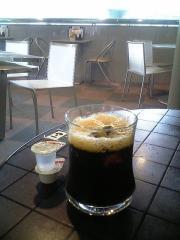 大阪市立科学館アイスコーヒー