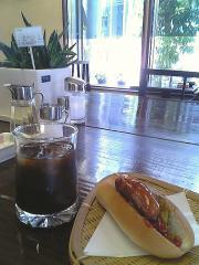 喫茶ミキヤのアイスコーヒー350円